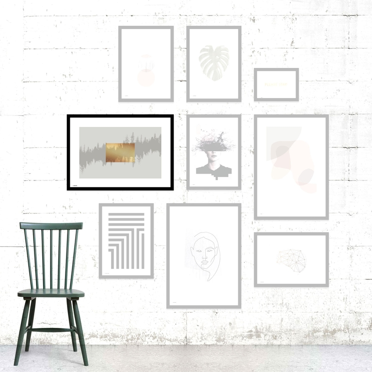 """Poster 70x100 """"Tranquility"""""""